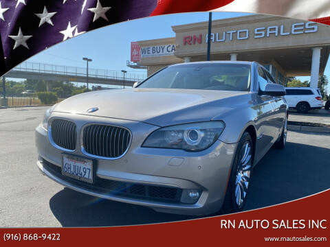 2009 BMW 7 Series for sale at RN Auto Sales Inc in Sacramento CA