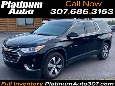 2018 Chevrolet Traverse for sale at Platinum Auto in Gillette WY
