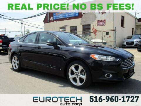 2016 Ford Fusion for sale at EUROTECH AUTO CORP in Island Park NY