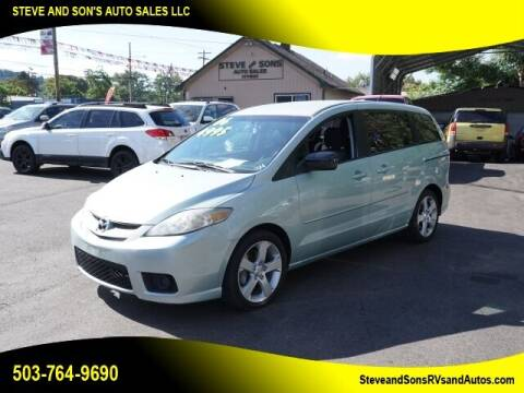 2006 Mazda MAZDA5 for sale at Steve & Sons Auto Sales in Happy Valley OR