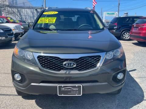 2011 Kia Sorento for sale at Cape Cod Cars & Trucks in Hyannis MA