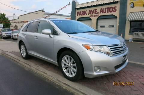 2010 Toyota Venza for sale at PARK AVENUE AUTOS in Collingswood NJ
