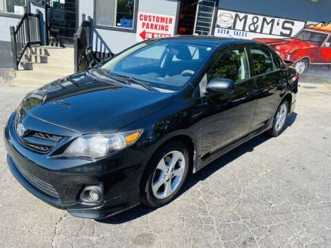 2012 Toyota Corolla for sale at M&M's Auto Sales & Detail in Kansas City KS