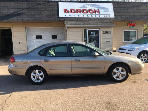 2003 Ford Taurus for sale at Gordon Auto Sales LLC in Sioux City IA
