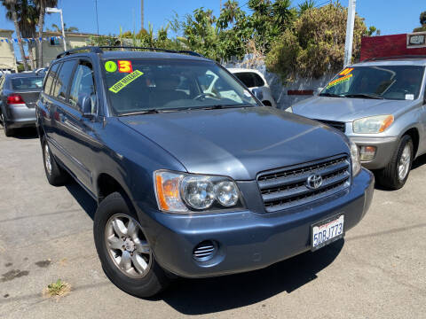 2003 Toyota Highlander for sale at North County Auto in Oceanside CA