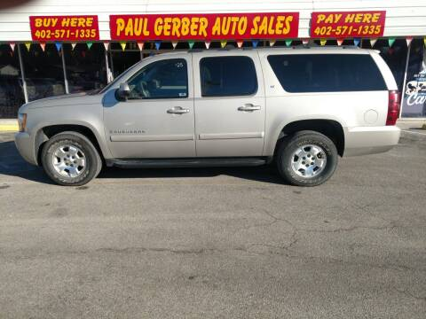 2009 Chevrolet Suburban for sale at Paul Gerber Auto Sales in Omaha NE