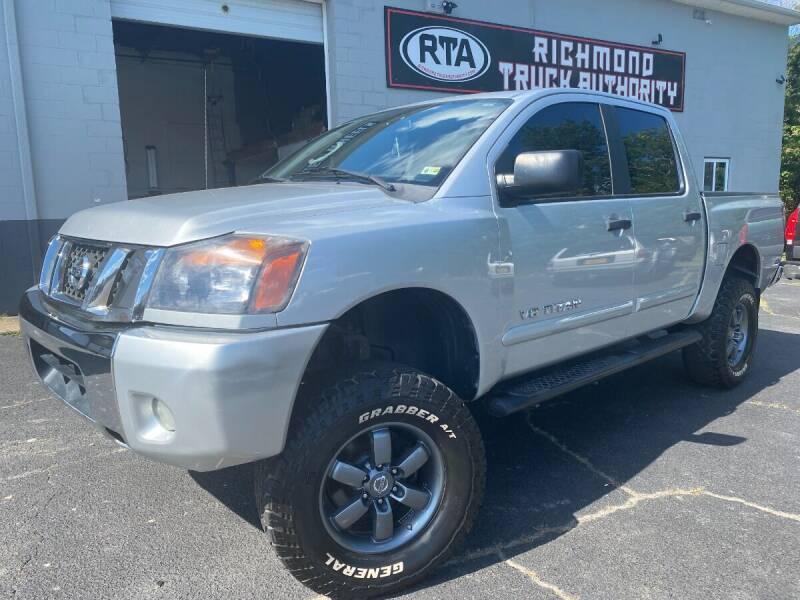 2011 Nissan Titan for sale at Richmond Truck Authority in Richmond VA