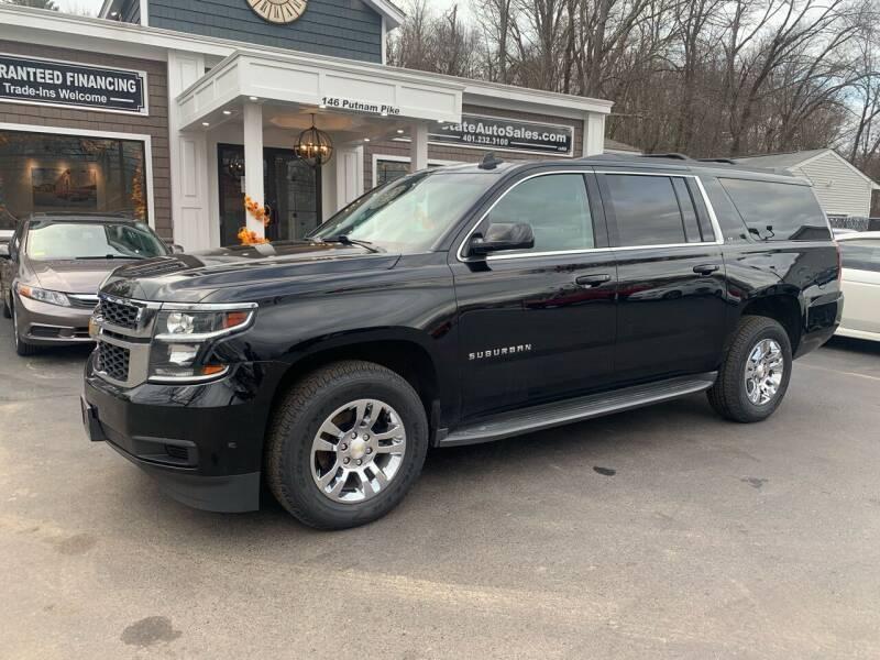 2015 Chevrolet Suburban for sale at Ocean State Auto Sales in Johnston RI