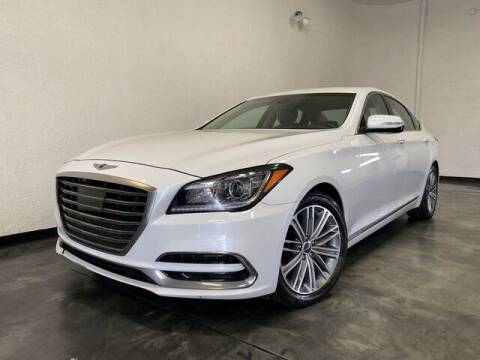 2018 Genesis G80 for sale at BLACK LABEL AUTO FIRM in Riverside CA