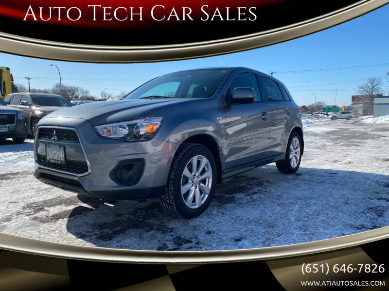 2015 Mitsubishi Outlander Sport for sale at Auto Tech Car Sales in Saint Paul MN