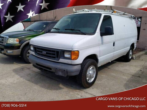 2007 Ford E-Series Cargo for sale at Cargo Vans of Chicago LLC in Mokena IL