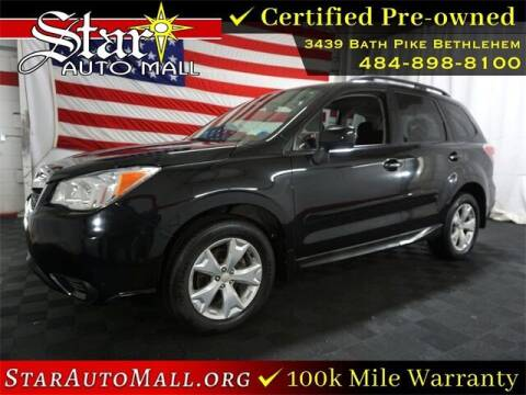 2014 Subaru Forester for sale at STAR AUTO MALL 512 in Bethlehem PA