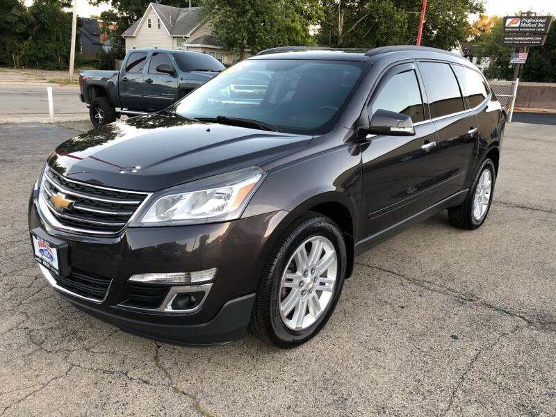 2013 Chevrolet Traverse for sale at Bibian Brothers Auto Sales & Service in Joliet IL