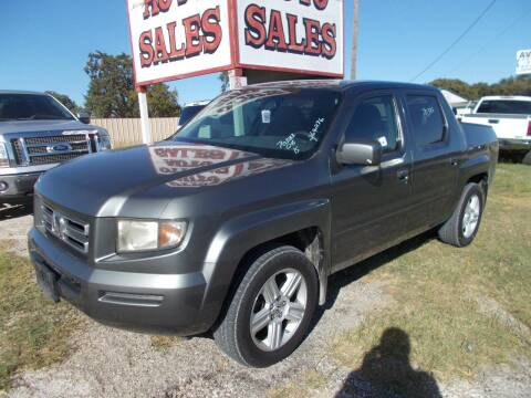 2008 Honda Ridgeline for sale at OTTO'S AUTO SALES in Gainesville TX