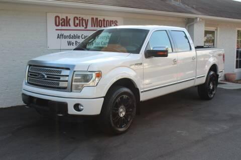 2013 Ford F-150 for sale at Oak City Motors in Garner NC