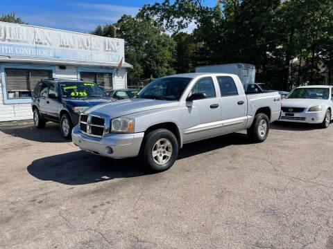 2005 Dodge Dakota for sale at Lucien Sullivan Motors INC in Whitman MA
