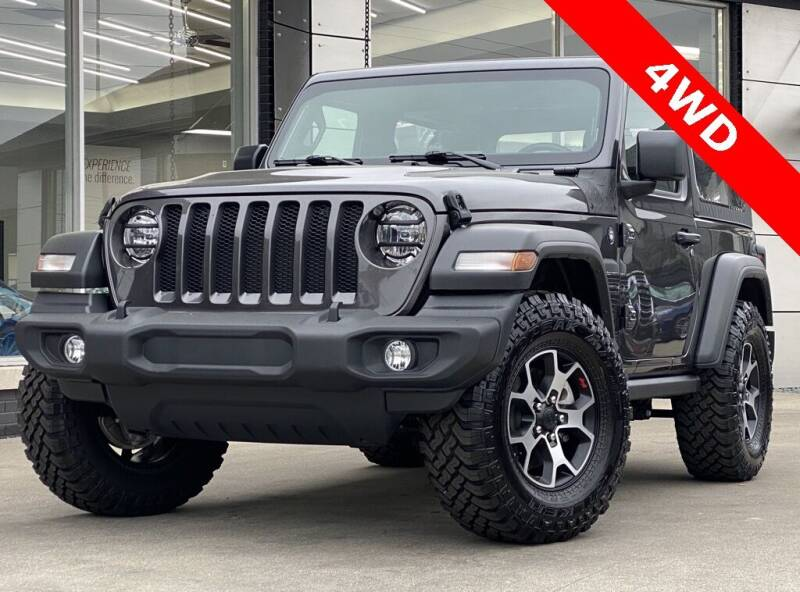 2020 Jeep Wrangler for sale at Carmel Motors in Indianapolis IN