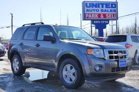 2010 Ford Escape for sale at United Auto Sales in Anchorage AK