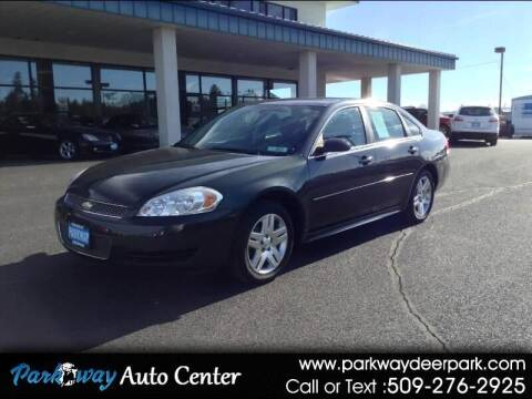 2012 Chevrolet Impala for sale at PARKWAY AUTO CENTER AND RV in Deer Park WA