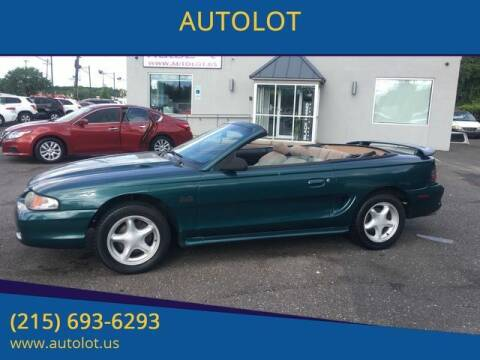 1994 Ford Mustang for sale at AUTOLOT in Bristol PA
