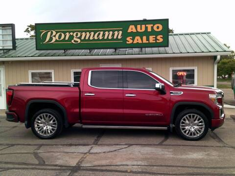 2019 GMC Sierra 1500 for sale at Borgmann Auto Sales in Norfolk NE