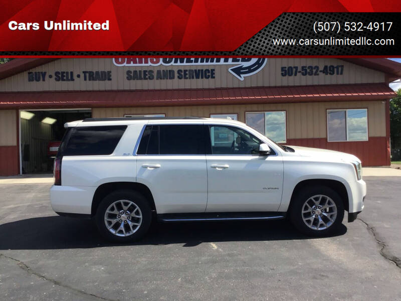 2015 GMC Yukon for sale at Cars Unlimited in Marshall MN