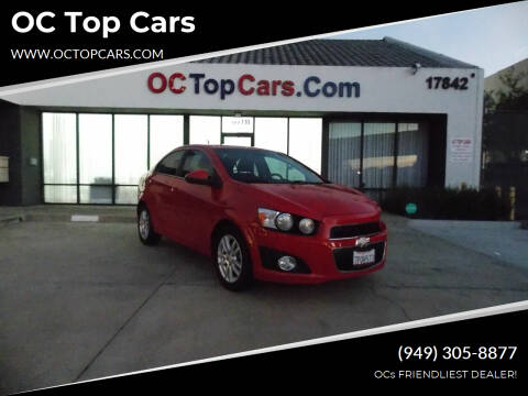 2012 Chevrolet Sonic for sale at OC Top Cars in Irvine CA
