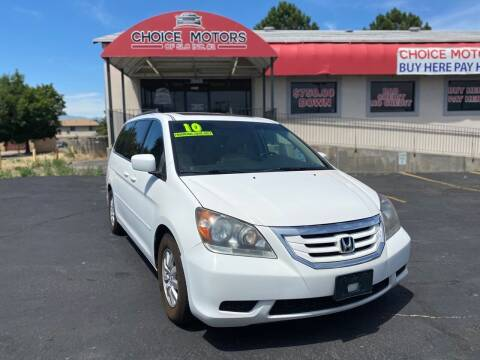 2010 Honda Odyssey for sale at Choice Motors of Salt Lake City in West Valley  City UT