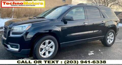 2016 GMC Acadia for sale at Techno Motors in Danbury CT