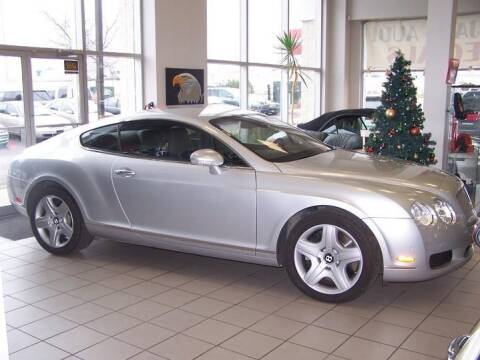 2004 Bentley Continental for sale at Peninsula Motor Vehicle Group in Oakville Ontario NY
