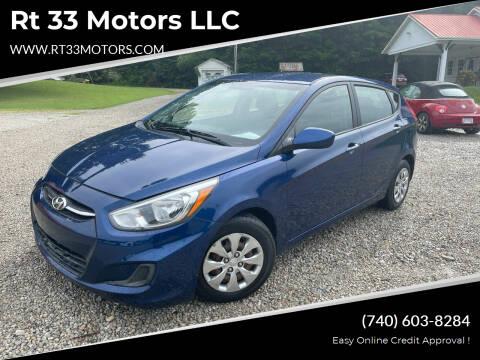 2016 Hyundai Accent for sale at Rt 33 Motors LLC in Rockbridge OH