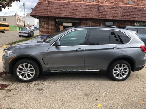 2016 BMW X5 for sale at KUDICK AUTOMOTIVE in Coleman WI