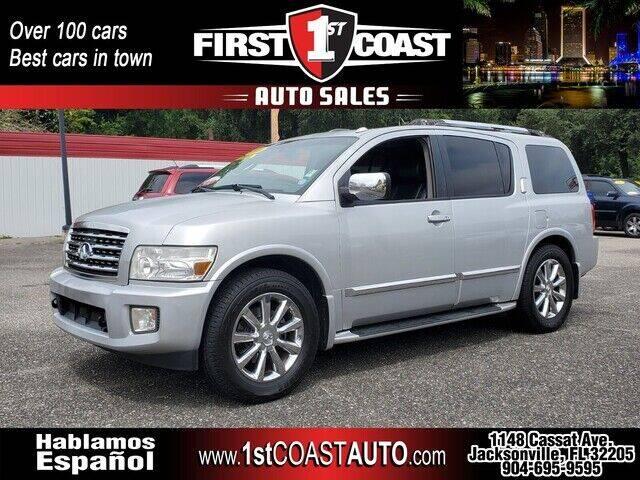 2008 Infiniti QX56 for sale at 1st Coast Auto -Cassat Avenue in Jacksonville FL