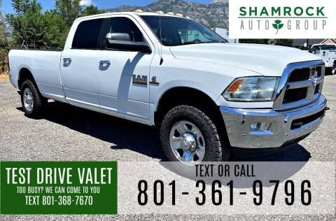 2014 RAM Ram Pickup 3500 for sale at Shamrock Group LLC #1 in Pleasant Grove UT