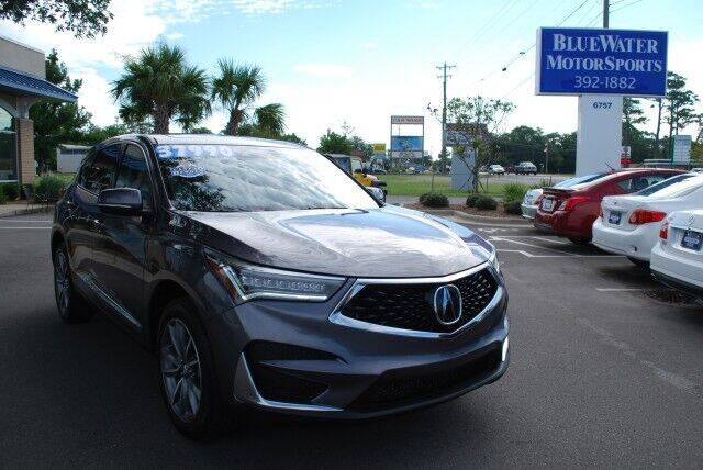 2019 Acura RDX for sale at BlueWater MotorSports in Wilmington NC