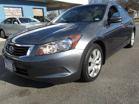 2008 Honda Accord for sale at Trimax Auto Group in Norfolk VA