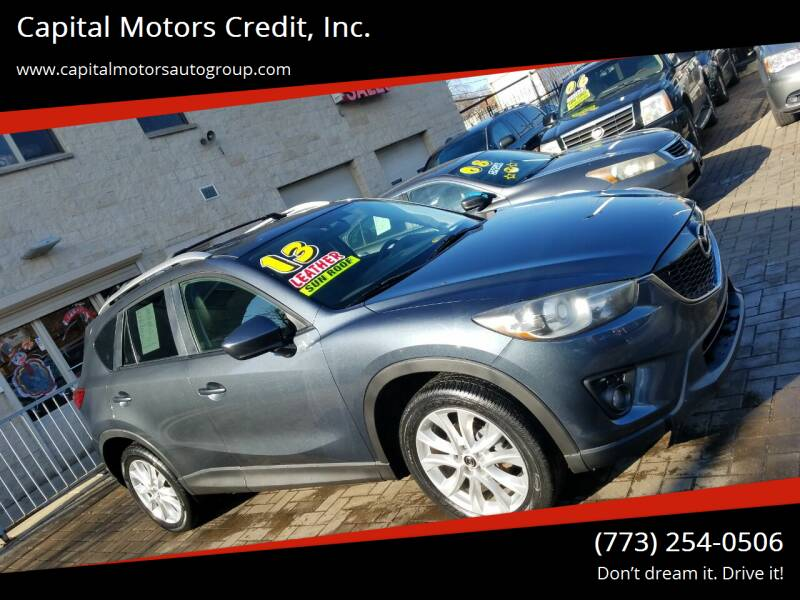 2013 Mazda CX-5 for sale at Capital Motors Credit, Inc. in Chicago IL