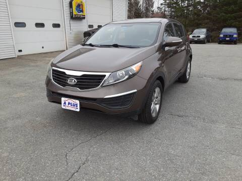 2013 Kia Sportage for sale at A-Plus Motors in Alton ME