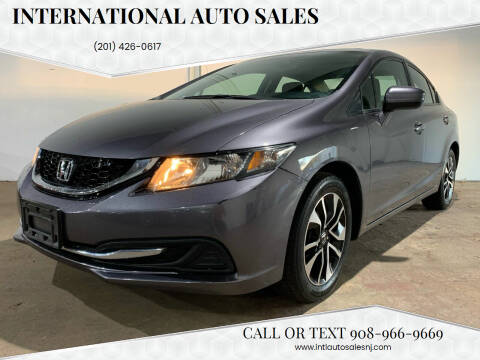 2014 Honda Civic for sale at International Auto Sales in Hasbrouck Heights NJ