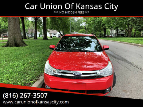 2008 Ford Focus for sale at Car Union Of Kansas City in Kansas City MO