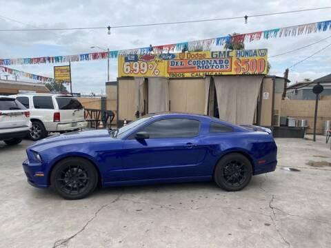 2013 Ford Mustang for sale at DEL CORONADO MOTORS in Phoenix AZ