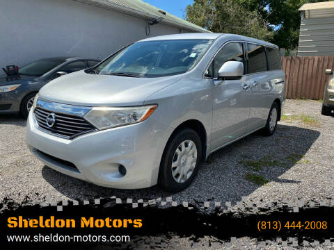 2012 Nissan Quest for sale at Sheldon Motors in Tampa FL