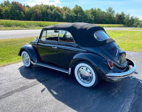 1968 Volkswagen Beetle Convertible for sale at AB Classics in Malone NY