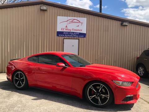 2015 Ford Mustang for sale at Autos EZ Way in Houston TX