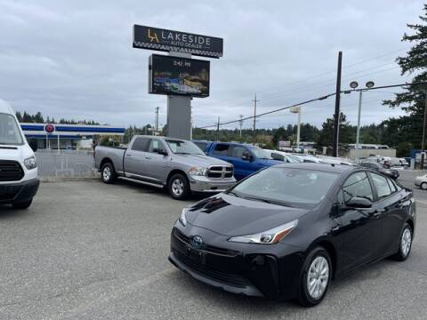 2021 Toyota Prius for sale at Lakeside Auto in Lynnwood WA