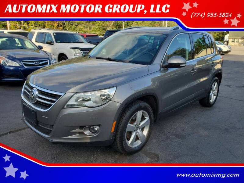 2010 Volkswagen Tiguan for sale at AUTOMIX MOTOR GROUP, LLC in Swansea MA