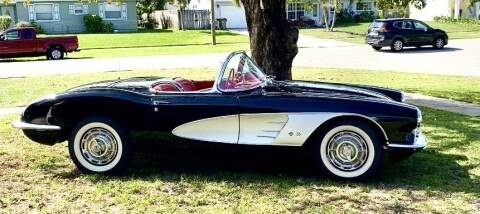 1960 Chevrolet Corvette for sale at Suncoast Sports Cars and Exotics in West Palm Beach FL