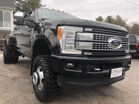 2017 Ford F-350 Super Duty for sale at Langlois Auto and Truck LLC in Kingston NH