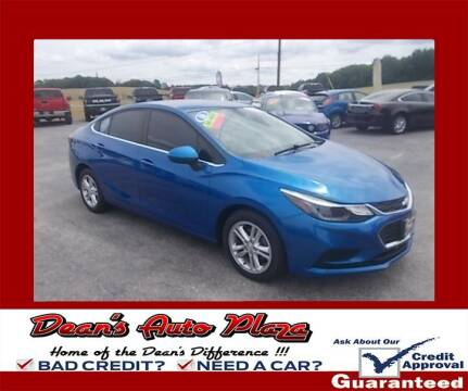 2016 Chevrolet Cruze for sale at Dean's Auto Plaza in Hanover PA