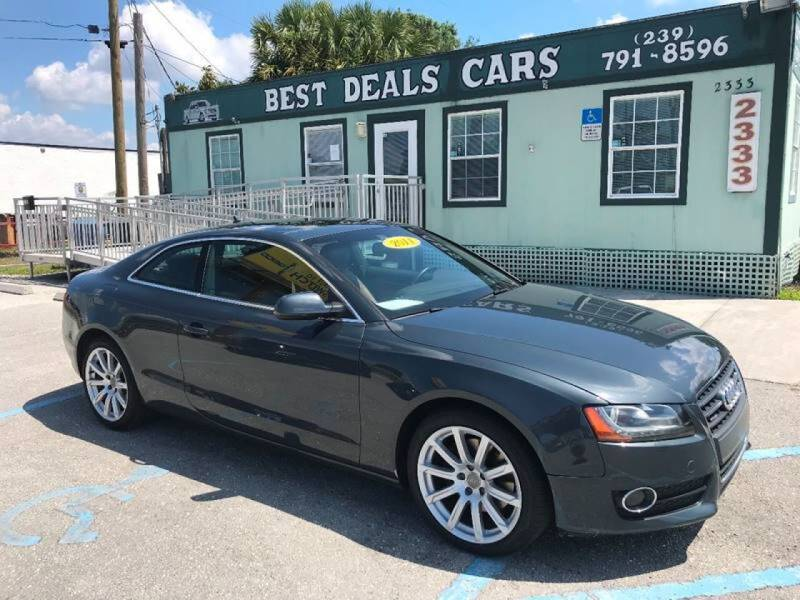 2011 Audi A5 for sale at Best Deals Cars Inc in Fort Myers FL